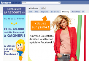 Laredoute Facebook Commerce