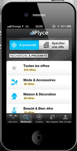 App iPhone Plyce