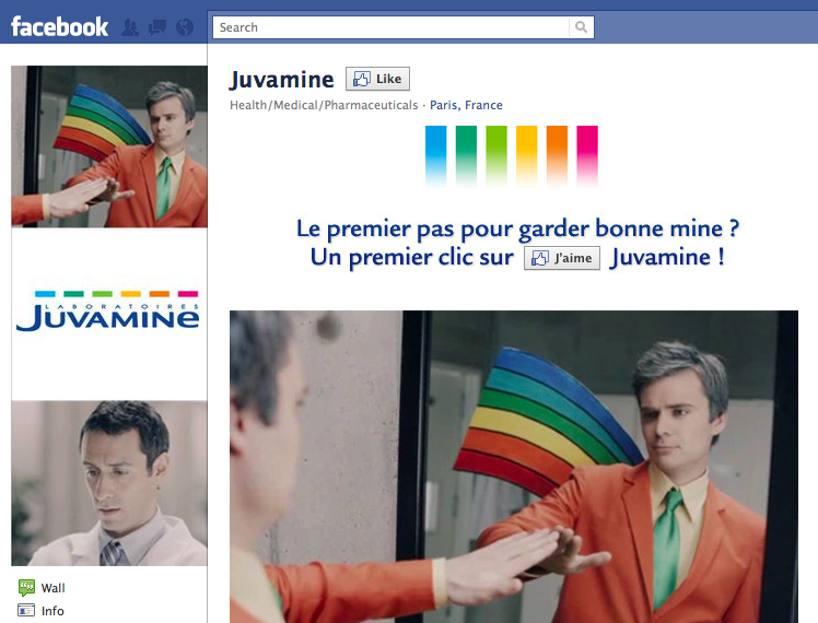 Page Facebook Juvamine