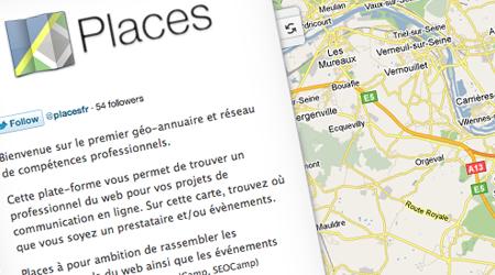 J'ai testé pour vous : Places, l'annuaire pro géolocalisé