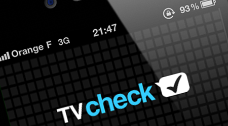 TVcheck : le Foursquare des programmes TV