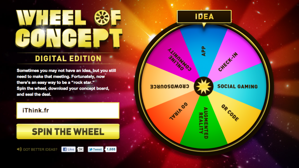 The Wheel of Concept, digital edition