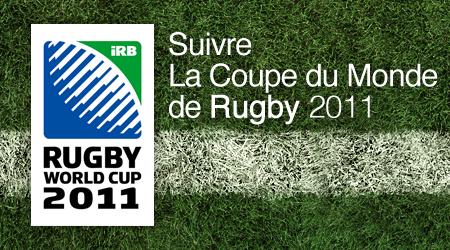 Suivre la Coupe du Monde de Rugby 2011