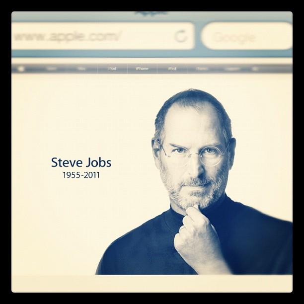 Steve Jobs nous a quitté ce mercredi 5 octobre 2011.