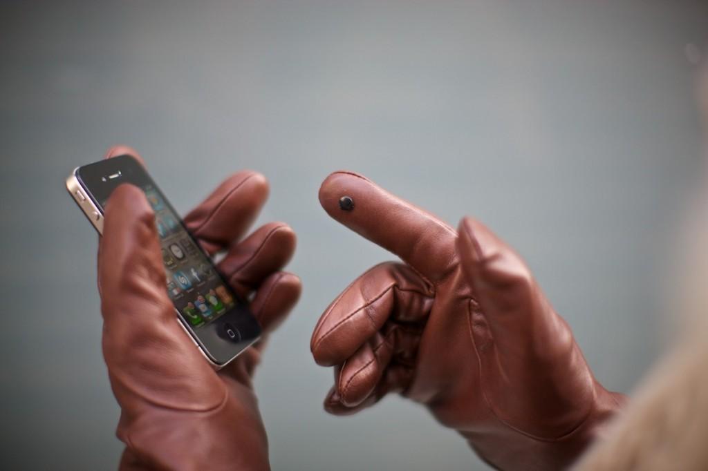 Glove Tip pour utiliser votre appareil tactile avec des gants