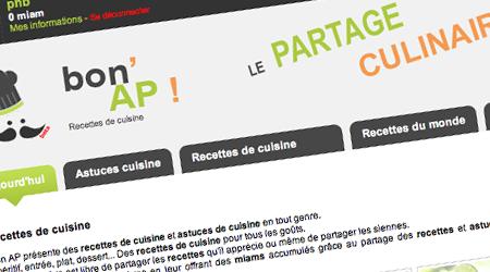 Bon AP renouvelle le genre culinaire sur le web