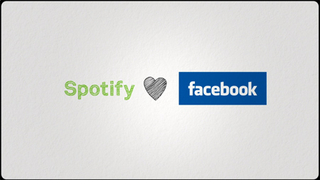 Spotify aime Facebook