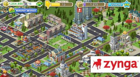 Zynga lance sa plateforme social gaming sur Zynga.com