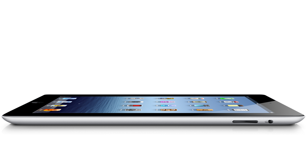 Le nouvel iPad dispose d'un design identique à la génération précédente, l'iPad 2.