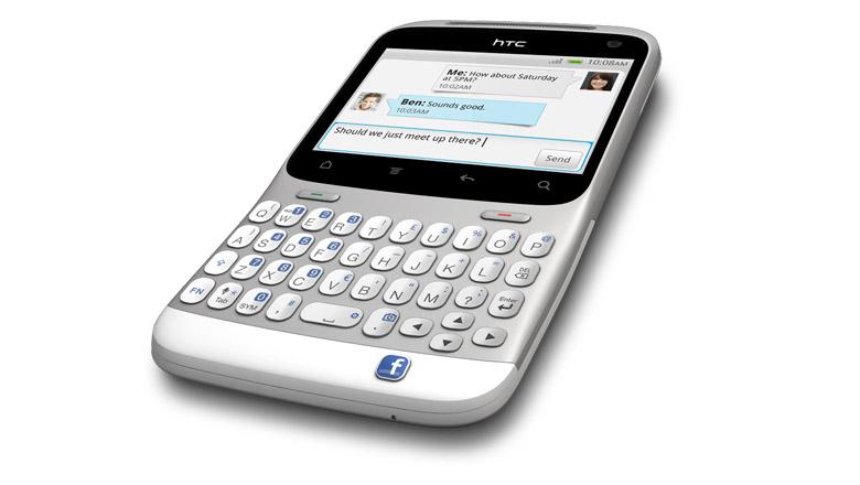 HTC ChaCha avec une touche Facebook, déjà disponible